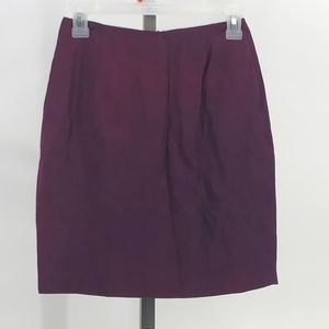 Hugo Buscati Skirts - Hugo Buscati Collection burgundy Pencil Skirt 2